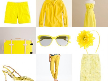 JCrew Yellow.collage