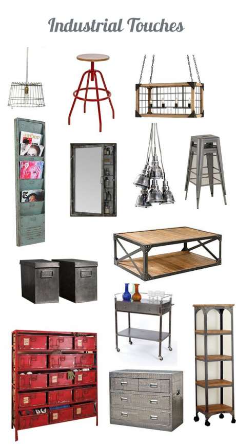 Clayton Gray Home Decor Industrial