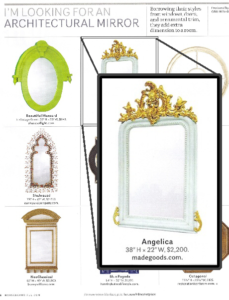 Clayton Gray Home Angelica Mirror