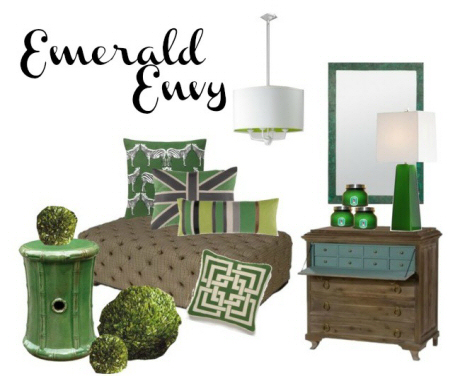 Clayton Gray Home Decor Emerald Envy