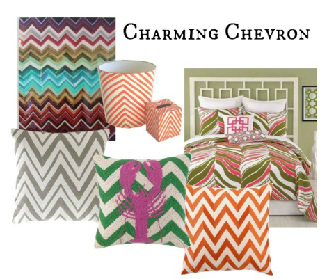 Clayton Gray Home Decor Chevron CGH