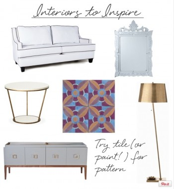Check out a few of Maggie's inspirations to get the Barcelona Beauty look in your very own home!  (photo courtesy of www.coco+kelley.com)