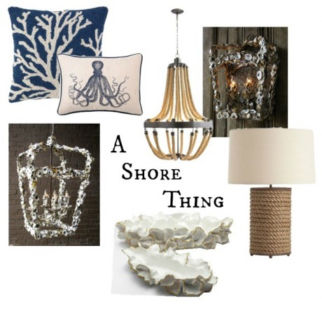 Week of trends day 1 a shore thing clayton gray home for Shore home decor