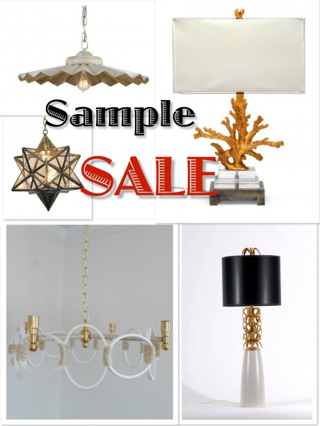 Sample Sale Currey & Company