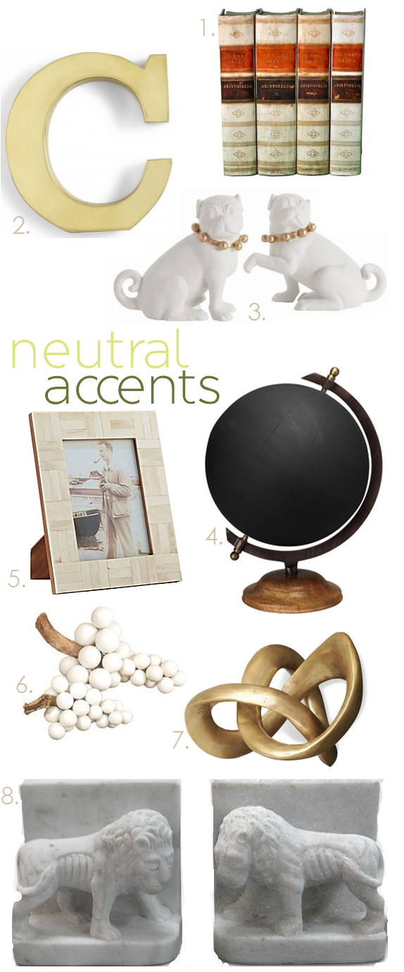 Here our Altus Porcelain Pugs by Arteriors Home are featured with these other fabulous neutral accessories to liven up any room in your home.