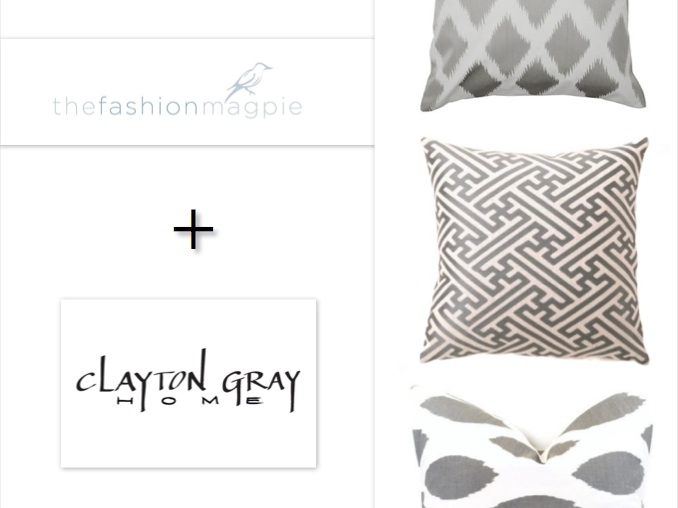 Spotted: Our Hatch Linen Pillow