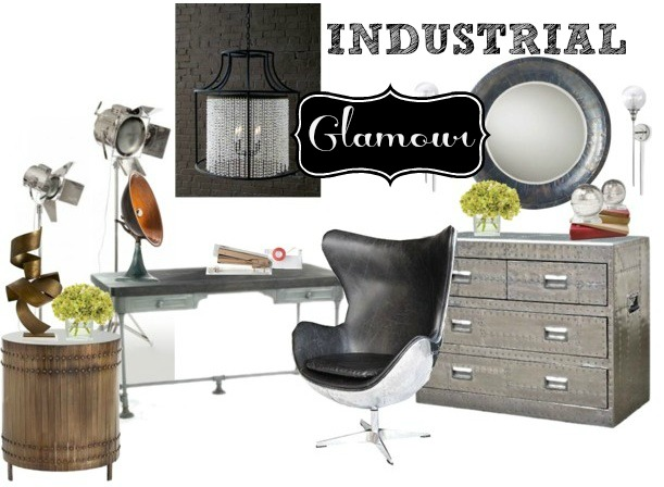 Go Industrial Glam with CGH, Arteriors Home, Barbara Cosgrove, and Russell+Hazel!