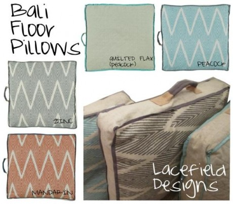 Bali Floor Pillows