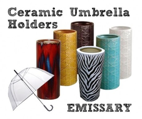 Ceramic Umbrella Holders - Emissary