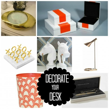 Decorate your desk with these latest and greatest must have accessories to keep your desk orderly and ornamented!