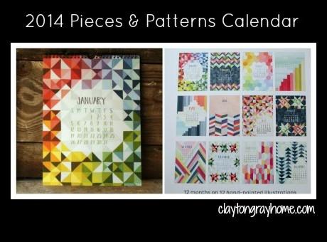 patterns calendar
