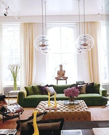 Lonny Magazine Crushing On Velvet Clayton Gray Home