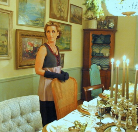 downtown abbey dinner party