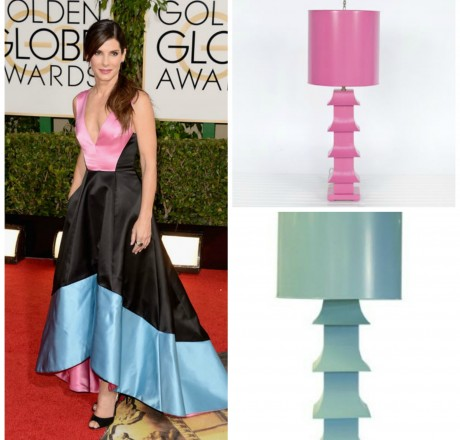 golden globes - sandra pm