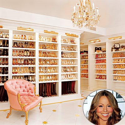 Touring Hollywoodu0027s Famous Closets Can Keep Us Entertained For Hours.  Kimmora Lee Simmons Made A Show Out Of Her Dream Closet And Even Gave Us A  New ...