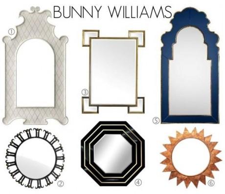Bunny Williams Mirrors