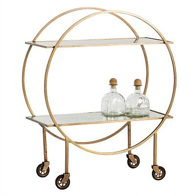 Arteriors Rupert Bar Cart 1