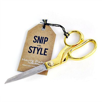 Haute Papier Gold Scissors