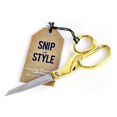 Haute Papier Gold Scissors