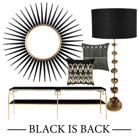 black is back collage