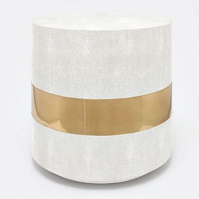 Made Goods Maxine Side Table Snow 5