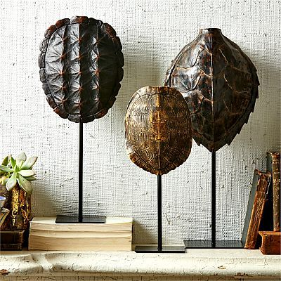 Tozai Home Tortoise Shell set of 3 1