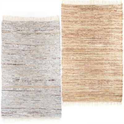 streaks rug silver and gold